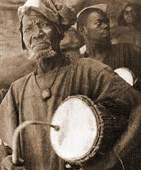 African griot image