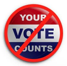 Voter supression image